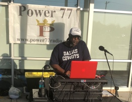 DJ Larry Gee in the mix.
