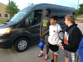 Elevate Your Game, Inc. (EYG) Eagles players are ready to travel to Clarksville, Texas for the basketball camp.